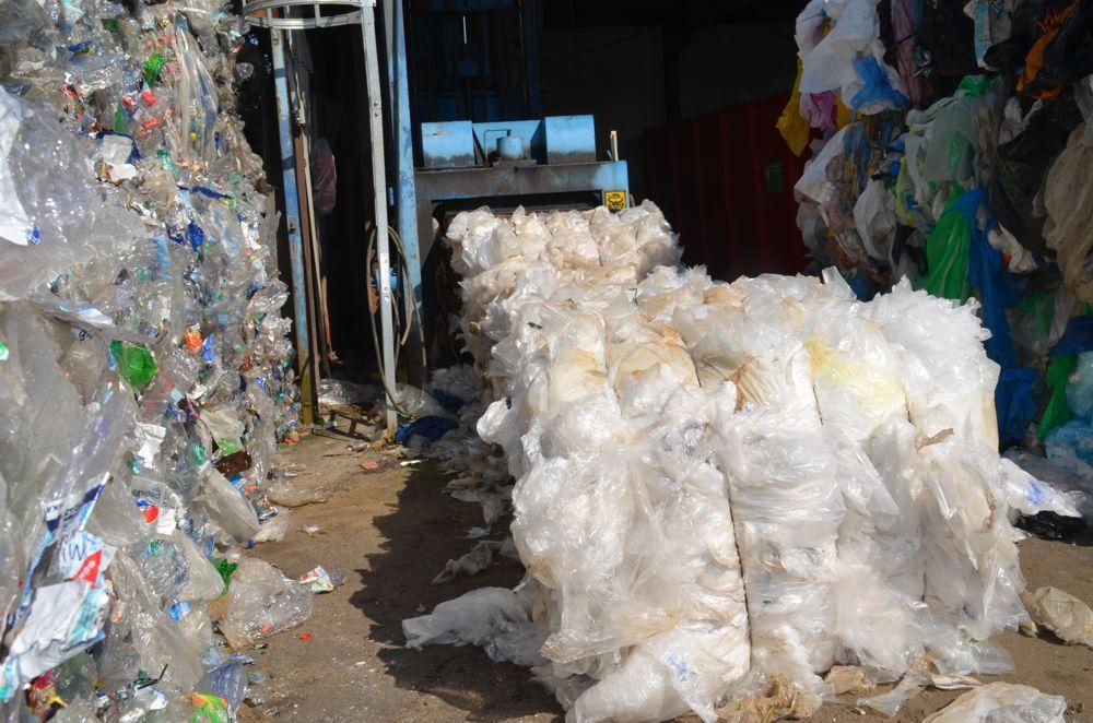sortenreine Sortierung von Kunststoff